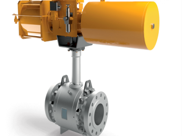 A Brief Rundown of a Trunnion Ball Valve