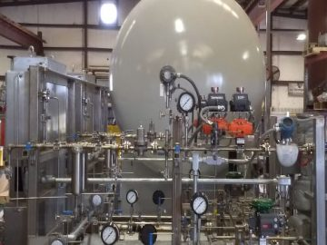 Vector Systems Receives Ammonia Handling Equipment & Ammonia Process Skid Order from Tokai Carbon